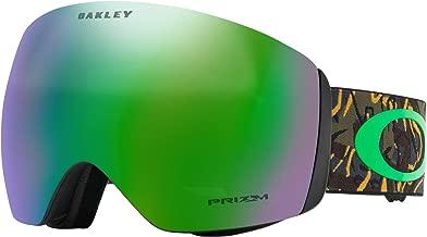 Oakley Flight Deck Prizm Snow Goggles Camo Vine Jungle W/Prizm Jade Iridium Lens