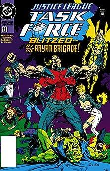 Justice League Task Force (1993-1996) #11 by [Michael Jan Friedman, Sal Velluto, Jeff Albrecht, Robert Jones, Glenn Whitmore]