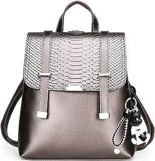 YIZICHOO Damen Rucksack Handtaschen Elegant Anti Diebstahl Frau Stadtrucksack Henkeltaschen Tagesrucksack YIDE86010