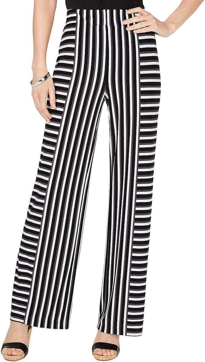 INC International Concepts I.N.C. Mixed-Stripe Soft Pants