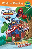 World of Reading Super Hero Adventures: Tricky Trouble!: Level Pre-1