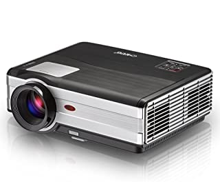 EUG 2019 LCD Digital Multimedia Video Projector 1080P Home Theater 4200 Lumens 1280x800 Native LED Projector Outside Enter...
