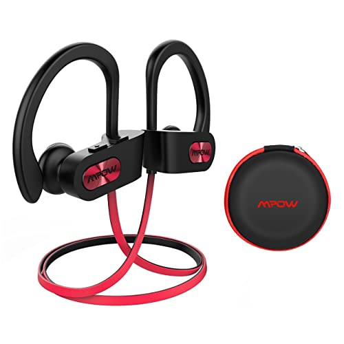 3400016eab7 Mpow Wireless Headphones Bluetooth, Up to 9 Hrs Playing Time IPX7  Waterproof Running Headphones In
