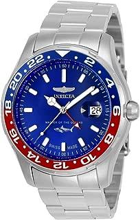 Men's Pro Diver Quartz Watch with Stainless-Steel Strap