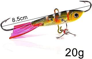1Pc Winter Ice Fishing Lure 4.3Cm-8.5Cm 10G-35G 3D Eyes Colorful Ad-Sharp Lead Bait Hard Lure Balancer for Fishing Bait