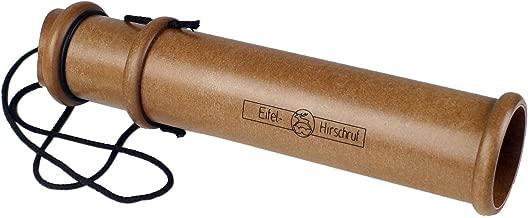 Wildlocker Lockinstrument Weisskirchen Eifelhirschruf dreiteilig geeignet f/ür die Jagd oder Tierbeobachtung