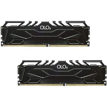 OLOy DDR4 RAM 16GB (2x8GB) 3000 MHz CL16 1.35V 288-Pin Desktop Gaming UDIMM (MD4U083016BJDA)