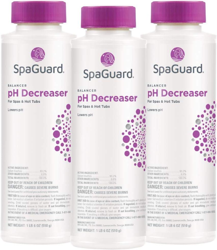 SpaGuard pH Decreaser 22 half oz 3 Save money