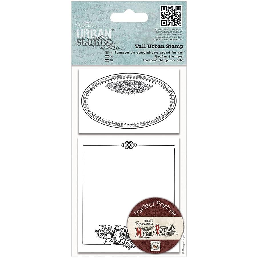 Papermania Madame Payraud Tall Urban Stamps, Oval Frame