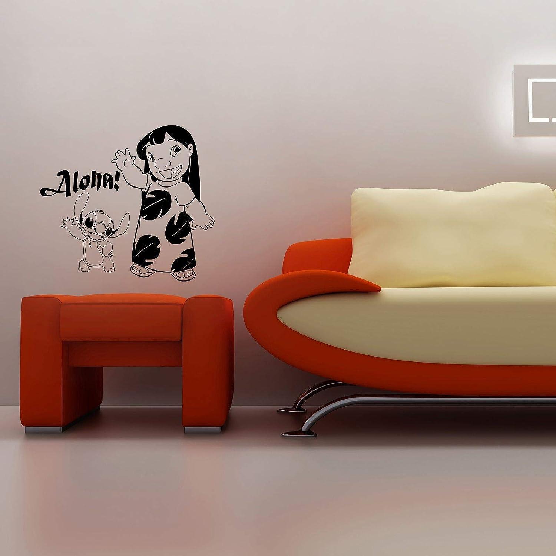 Aloha Lilo and Stitch Disney Sticke Quote Wall Character Jacksonville Mall Cartoon Award-winning store