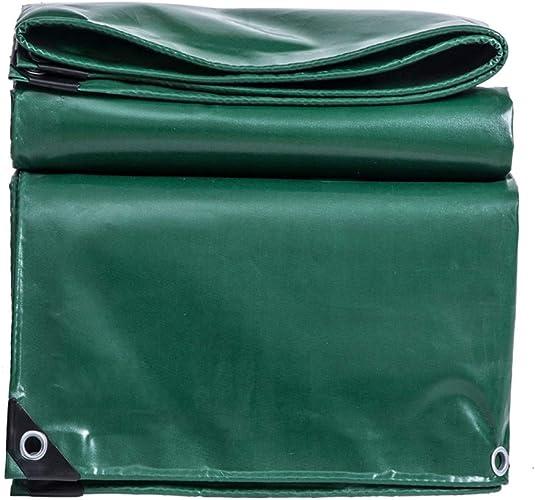 Mysida Tarpaulin 530g   m2 couvertures de Feuille de Sol de Feuille de bache résistante imperméable de bache pour Le Trampoline de huche de Voitures de Meubles de Jardin (Taille   5×7m 16.5×23ft)