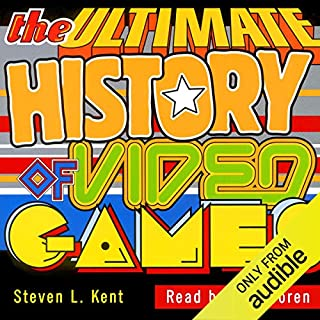 The Ultimate History of Video Games audiobook cover art