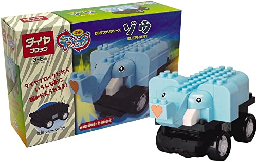 Diamond block action mystery series elephant safari (japan import)