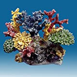 Instant Reef DM036 Artificial Coral Inserts Decor, Fake Coral Reef Decorations for Colorful Freshwater Fish Aquariums, Marine and Saltwater Fish Tanks