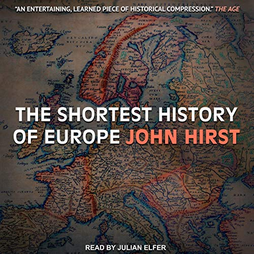 The Shortest History of Europe audiobook cover art