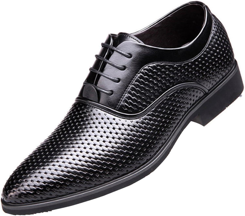 MYXUA Herren Sandalen Business Kleid Schuhe B07D5GGJZY