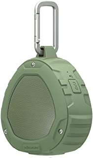 Nillkin S1 PlayVox Bluetooth 4.0 Portable Outdoor Wireless Speaker with NFC Compatibility, Built-in Microphone, IPX4 Waterproof - Green