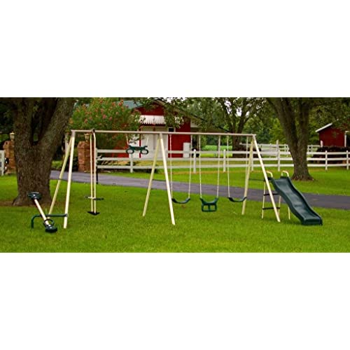 Flexible Flyer Swing Sets Amazon Com
