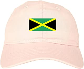 Jamaica Flag Country Chest Dad Hat Baseball Cap