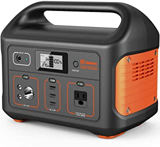 Jackery Portable Power Station Explorer 500, 518Wh Outdoor Mobile Lithium Battery Pack with 110V/500W AC Outlet, Solar-Ready Generator (Solar Panel Optional) RV Battery CPAP Power Outage Emergency Kit