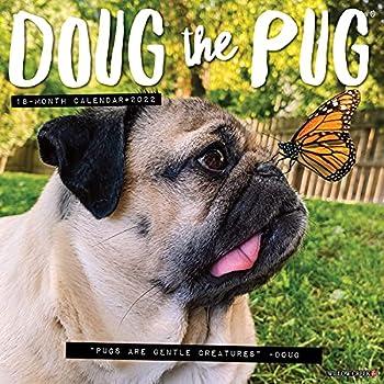 Doug the Pug 2022 Wall Calendar