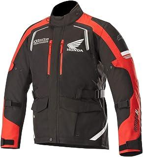 Alpinestars - Chaqueta para moto Andes V2 Drystar Jacket, color negro y rojo L BLACK RED