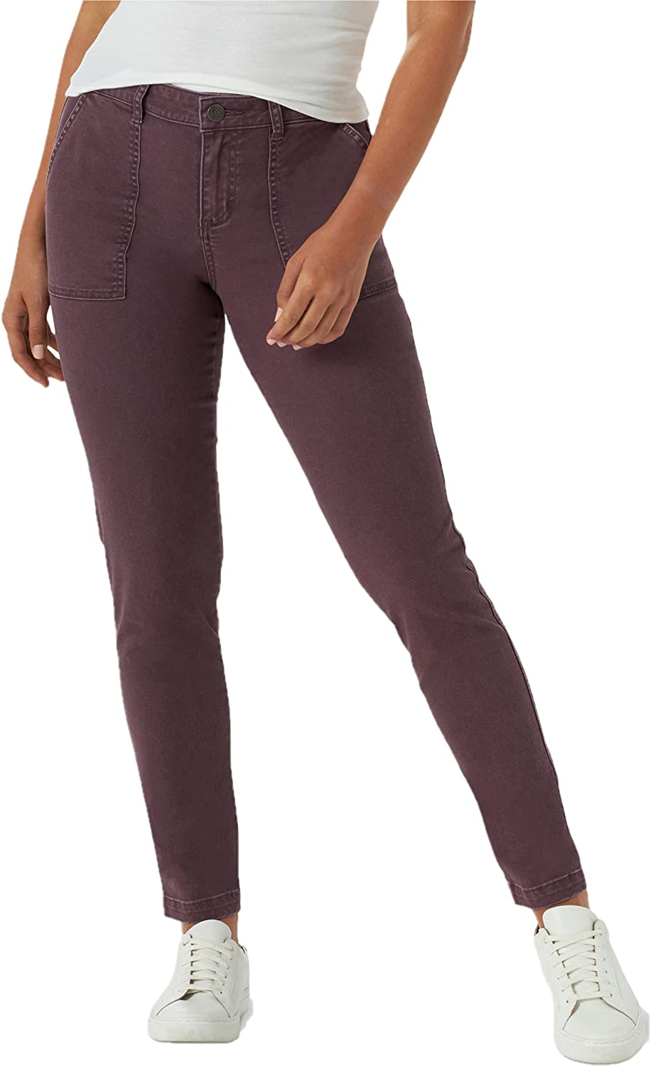 Lee Women's Legendary Regular Fit Tapered Utility Pant: Clothing, Shoes & Jewelry