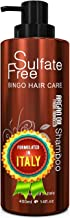 Moroccan Argan Oil Shampoo Sulfate Free - Best for Damaged, Dry, Curly or Frizzy Hair - Thickening for Fine / Thin Hair, S...