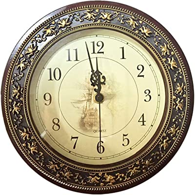 Infinity Instruments The Forecaster Clock Bronze