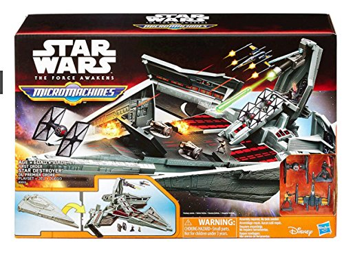 Hasbro Star Wars Episode 7 The Force Awakens Micro Machines First Order Star Destroyer
