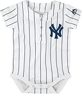 846b6d59d0d New York Yankees Newborn Infants White Home Cool Base Creeper Jersey