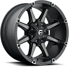 FUEL Coupler MBT-Matte BLK DDT Wheel with Painted (20 x 10. inches /8 x 170 mm, -24 mm Offset)