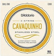 D'Addario EJ93 Stainless Steel Cavaquinho String Set - Ball End