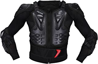 JIAJUN Children's Motorcycle Body Armor Protection For Cross-Country Bicycle Sports Jacket (Black Size M) ¡­