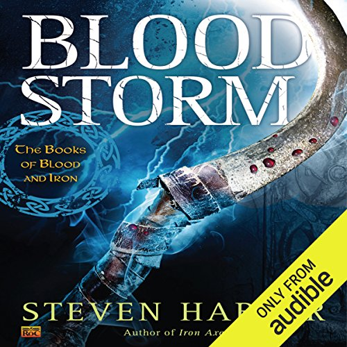 Blood Storm audiobook cover art