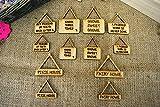 Diseño de hada con adornos para colgar en puerta Signs - 3 tamaños, 6 Designs, 12 formas...