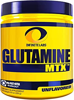 Infinite Labs Glutamine Powder Unflavored, 8.8 oz