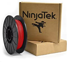 NinjaTek 3DNF03117505 NinjaTek NinjaFlex TPU Filament, 1.75mm, TPE.5kg, Fire (Red) (Pack of 1)