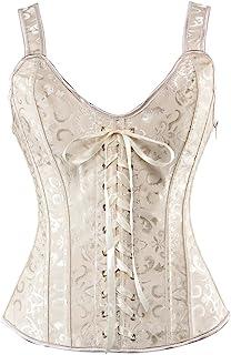 bb9cb52b7dbf9 Amazon.fr : guepiere - Beige / Bustiers et corsets / Lingerie ...