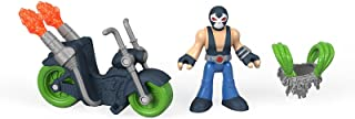 Fisher-Price Imaginext DC Super Friends Bane Action Figure and Motorcycle