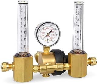 Miller Smith 23-50-580 Regulator, Flowmeter, Dual, Multi-Scale, 50 PSI
