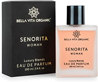 Bella Vita Organic Senorita Perfume For Woman, Fresh and Fruity Long Lasting Scent Ladies Girls Perfume,100 ml