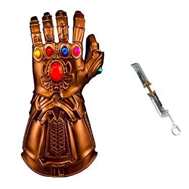 Thanos Gauntlet Infinity Gauntlet Glove Cosplay Thanos Props, Picture Color, One Size