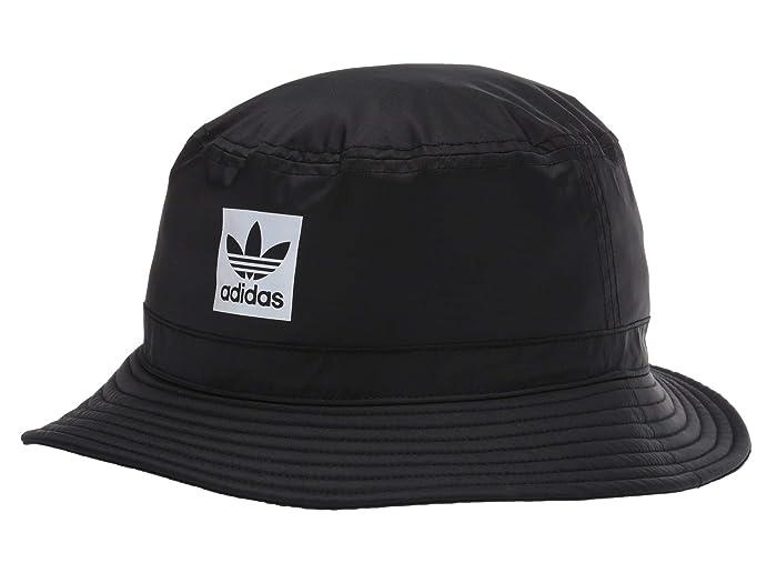 adidas Originals  Originals Night Bucket Hat (Black/Reflective) Bucket Caps