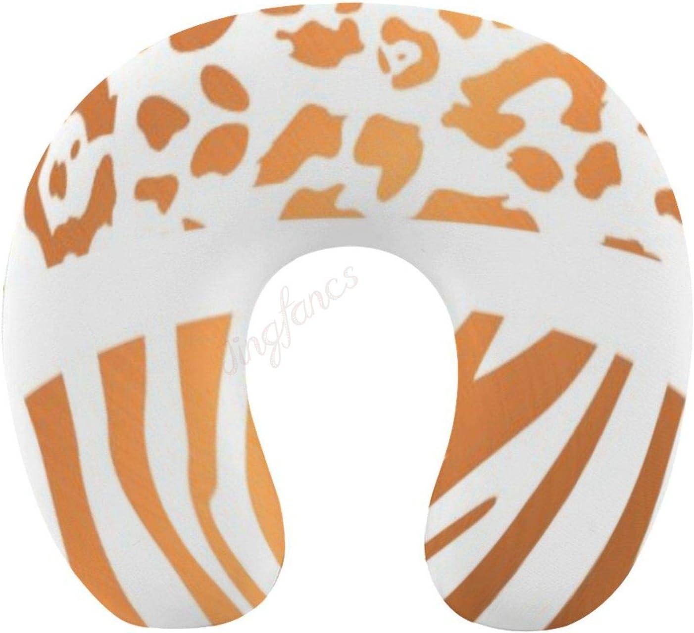High quality new Chin Supporting Travel Washington Mall Pillows- Zebra Print,Memor Lepard Print
