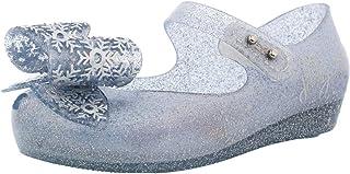 أحذية صغيرة للبنات الصغار بتصميم قوس فروزن للبنات مقاس 6
