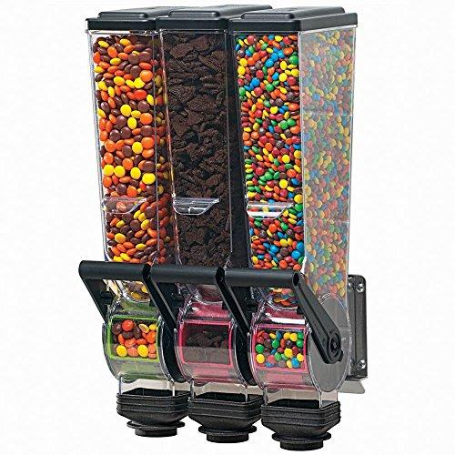 Server Products 88770 SlimLine Triple Dry Food Dispenser