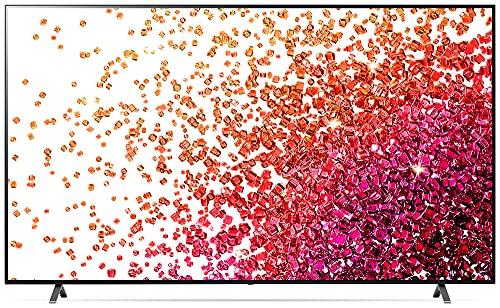 LG 75NANO759PA TV 189 cm (75 Zoll) 4K NanoCell Fernseher (Active HDR, 60 Hz, Smart TV) [Modelljahr 2021]
