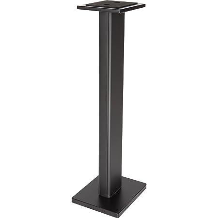 DR Pro DRPRO SMS1BK Wood Studio Monitor Stand (Pair) Black