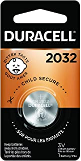 Duracell – 2032 3V Lithium Coin Battery – with Bitter Coating – 1 Count